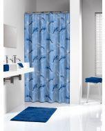 Κουρτίνα Μπάνιου Πλαστική 180*200 εκ. Delfino Blue Sealskin 210691324