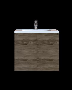 Έπιπλο Μπάνιου 100 εκ. με Νιπτήρα Χρώμα Anziano Grey Sanitec Alba A 100