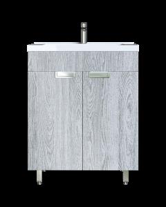 Έπιπλο Μπάνιου 65 εκ. με Νιπτήρα & ποδαράκια Χρώμα Canyon Greyish Sanitec Lido 65