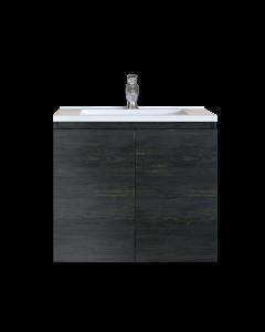 Έπιπλο Μπάνιου 80 εκ. με Νιπτήρα Χρώμα Pine Dark Sanitec Alba A 80