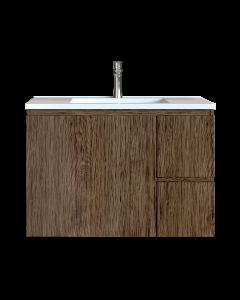 Έπιπλο Μπάνιου 90 εκ. με Νιπτήρα Χρώμα Anziano Natural Sanitec Alba C 90