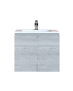 Έπιπλο Μπάνιου 90 εκ. με Νιπτήρα Χρώμα Canyon Greyish Sanitec Alba A 90