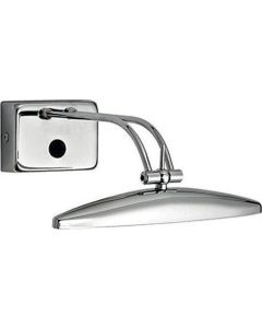 Απλίκα Επίτοιχη Δίφωτη  2*G9 IP20 Μέταλλο Χρώμιο Ideal Lux Mirror-20 017334