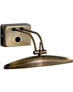 Απλίκα Επίτοιχη 25cm  Μέταλλο Μπρονζέ 2*G9 Ideal Lux Mirror-20  017327