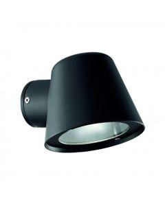 Απλίκα IP43  Χυτό Αλουμίνιο / Μαύρο Ideal Lux Gas AP1 020228