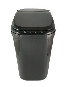 Αυτόματος Κάδος με φωτοκύτταρο 26 lt, M36*B26*Y48 cm Πλαστικό Μαύρο Cabin Plastic Dolphin EAD1126CPB