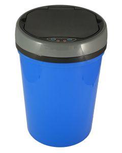Αυτόματος Κάδος με φωτοκύτταρο 9 lt  Ø25,1*36,1cm Μπλε Πλαστικό Favorite Plastic Mangusta Blue EAD101309DPB