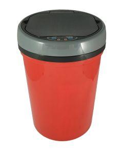 Αυτόματος Κάδος με φωτοκύτταρο 9 lt  Ø25,1*36,1cm Πλαστικό Κόκκινο Favorite Plastic Mangusta Blue EAD101309DPR