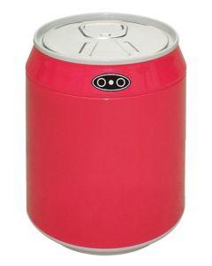 Αυτόματος Κάδος / Χαρτοδοχείο 1,5lt με φωτοκύτταρο Ø12*15cm Inox Trendy Mini  Κόκκινο  EAD100501R