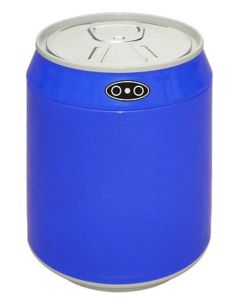 Αυτόματος Κάδος / Χαρτοδοχείο 1,5lt  με φωτοκύτταρο Ø12*15cm Inox Trendy Mini  Μπλε  EAD100501B