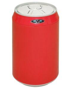 Αυτόματος Κάδος / Χαρτοδοχείο 2,5lt με φωτοκύτταρο Inox Trendy Swan Ø120*230mm Κόκκινο, ECOSALES EAD100502R