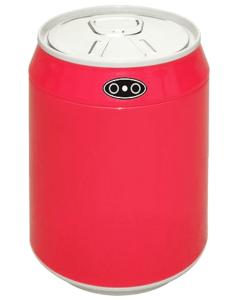 Αυτόματος Κάδος 6lt με φωτοκύτταρο Inox Trendy Koala Κόκκινο  Ø240*295mm  EAD100506R
