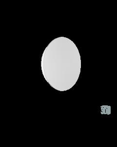 Επίτοιχο Φωτιστικό  Ø20 cm Led 4,5 w 338lm 3000K Warm White Μέταλλο Λευκό Viokef Kyklos 4193700