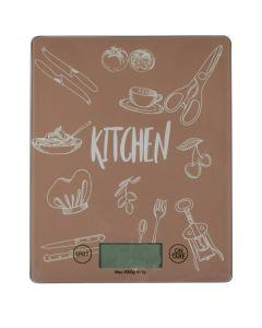 Ζυγαριά Κουζίνας Ηλεκτρονική max 5 kg Kitchen Ecosasa 01-8857
