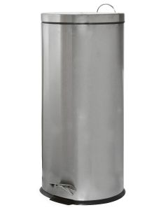 Κάδος Απορριμάτων  30 Λίτρων Ανοξείδωτος Inox Matt  Ecocasa 01-1759