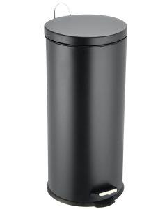 Κάδος Απορριμμάτων 30 Λίτρων Classic Μαύρος Ματ Ecocasa 01-9120