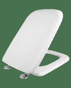 """Κάλυμμα Λεκάνης B.T Λευκό 34,5*42cm """"Τετράγωνο"""" κάθετο βίδωμα Ideal Standard Conca 0085"""