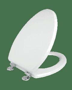 Κάλυμμα Λεκάνης WC Polyester B.T Λευκό 43-49*36 εκ. Κατάλληλο για Ideal Standard Capri-Cesame Erica-Fenise Elvit 0099