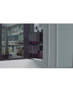 Καθρέπτης Ντουλάπι 50 εκ., Σκελετός Αλουμινίου FT24.066.001