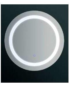 Καθρέπτης Στρόγγυλος Ø60 εκ. Καθρέπτης Led Touch on-off button  Ø60 εκ. 70008