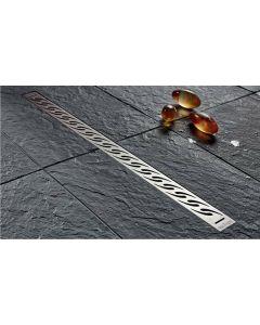 Κανάλι Ντουσιέρας 90 εκ. INOX AISI 304 Wirquin Venisio Grille V900
