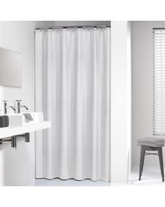 Κουρτίνα Μπάνιου Υφασμάτινη  180*200 εκ.Relative White Sealskin 233701310