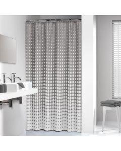 Κουρτίνα Μπάνιου Υφασμάτινη  180*200 εκ.Speckles Grey Sealskin 233601314