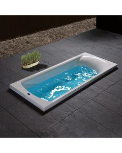 Μπανιέρα 140*70 εκ.Ακρυλικό Carronite Carron Bathrooms Delta 424C