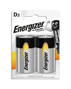 Μπαταρίες Αλκαλικές D  Ε-95 Energizer F016723