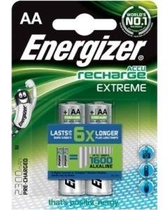 Μπαταρίες Επαναφορτιζόμενες ΑΑ 2300 mAh Σετ 2 τμχ. Energizer Exteme BP2 F016503