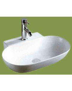 Νιπτήρας Μπάνιου Επικαθήμενος/ Επιτραπέζιος /Κρεμαστός 56*40*12,5 εκ. Ceramita F669