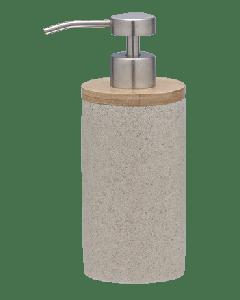 Ντισπένσερ Αντλία Σαπουνιού στο χρώμα της άμμου Polyresin with Bamboo Sealskin Grace 361910265