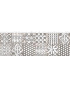 Πλακάκι Ντεκόρ Vintage Μπάνιου / Κουζίνας Πορσελανάτο Silex Hydra Décor Gris 30*90cm AP6390