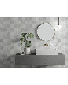 Πλακάκι Τοίχου 10*10 εκ. Γυαλιστερό Peronda Ceramicas Riad Glossy Grey