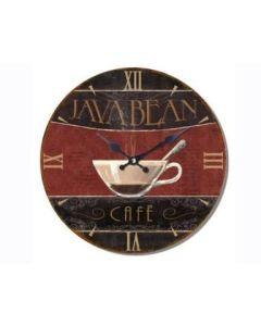 Ρολόι Επίτοιχο Ø34cm Java Bean Café  Etoile NN162504