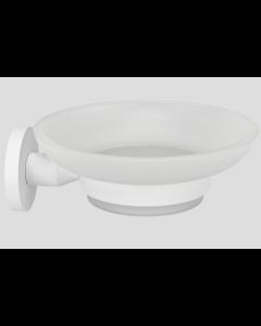 Σαπουνοθήκη Επίτοιχη Λευκό Ματ Verdi Omicron White Matt 3020601