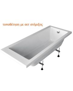 Σετ Στήριξης Μπανιέρας Carron Bathrooms AK01