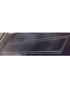Σιφώνι Ντουσιέρας Γραμμικό 60 εκ., Πλαστικό σώμα, Σχάρα SS304 Domistyle 23116