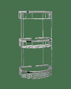 Σπογγοθήκη Παραλληλόγραμμη Τριών θέσεων Verdi R-10 Baskets 5021522