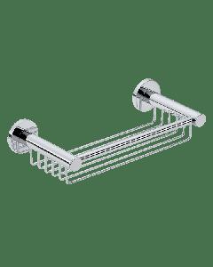 Σπογγοθήκη βαθιά διπλής στήριξης Επίτοιχη Χρωμέ Verdi Sigma Chrome 3032722