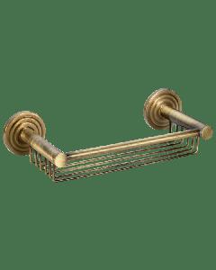 Σπογγοθήκη δύο ροζέτες Ρετρό Μπρονζέ Verdi Brass 3082766