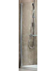 Σταθερό Πλαϊνό 70 εκ. Πόρτας Ντουσιέρας Προφίλ Χρώμιο, 6 χιλ. Κρύσταλλο Clear, Ύψος 185 εκ. Devon Primus Plus Side Panel SPBI70T-100