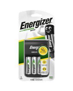 Φορτιστής μπαταριών AA/AAA  με 4 επαναφορτιζόμενες μπαταρίες Energizer Βase Charger ΑΑ F016631