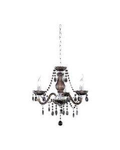 Φωτιστικό Πολυέλαιος Τρίφωτος Ø46 εκ. Μαύρο Ακρυλικό Trio Luster R11073002