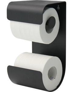 Χαρτοθήκη Μπάνιου Επίτοιχη Μέταλλο Μαύρο Sealskin Brix 362471819