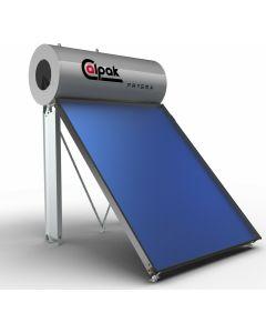 Calpak Prisma  Ηλιακός Θερμοσίφωνας 3-4 Ατόμων 160 lt /2m2  Glass Trien Τριπλής Ενέργειας