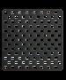 Αντιολισθητικό Ταπέτο Ντουσιέρας 50*50εκ.Μαύρο Sealskin Safety Mat Doby Black 312003419