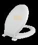 Κάλυμμα Λεκάνης WC Βακελιτικό Κρεμ  43,5-44,5*37cm Elvit 0012