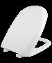 Κάλυμμα Λεκάνης WC  Βακελιτικό Λευκό  41,5-43,5 * 35,3cm για  Ideal Standard Verdi-Tesi, Hatria Elvit 1226