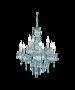 Φωτιστικό Πολυέλαιος Εννιάφωτος Ø61 εκ. Διάφανο Ακρυλικό Trio Luster R1169-00